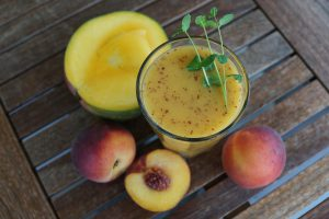 Source of extra vitamins - fresh smoothies