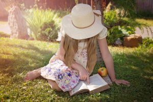 Encourage your child to read and be creative